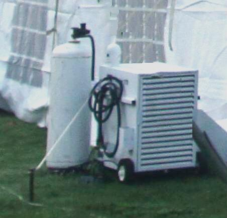 Where to find Heater, Tent -  Propane 170k btu in Lansing