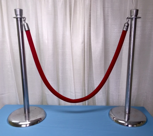 Rope Red Velvet 6 Foot Sect Rentals Lansing Mi Where To