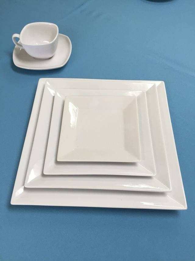 Where to find White Square Dinnerware in Lansing