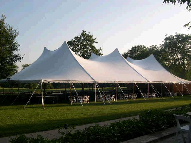 60w All White 60x100 Canopy Rentals Lansing Mi Where To