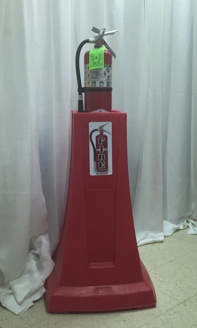 Where to find Fire Extinguisher and Stand in Lansing