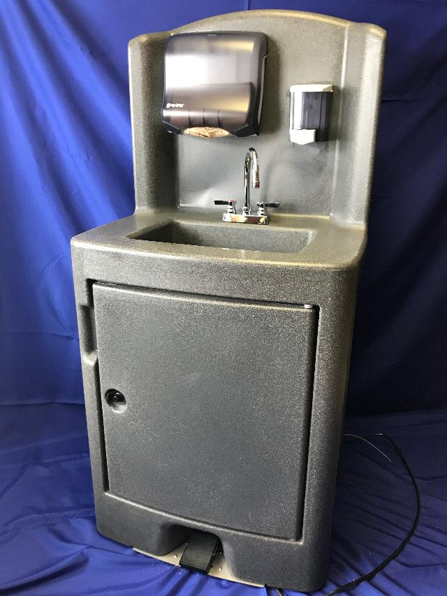Where to find Sink, Hot Water Washing Station in Lansing