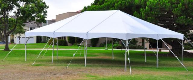 Rent Frame Tent, 20w Deluxe