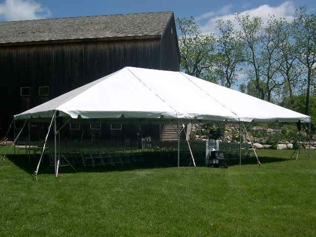 Rent Frame Tent, 30w Traditional
