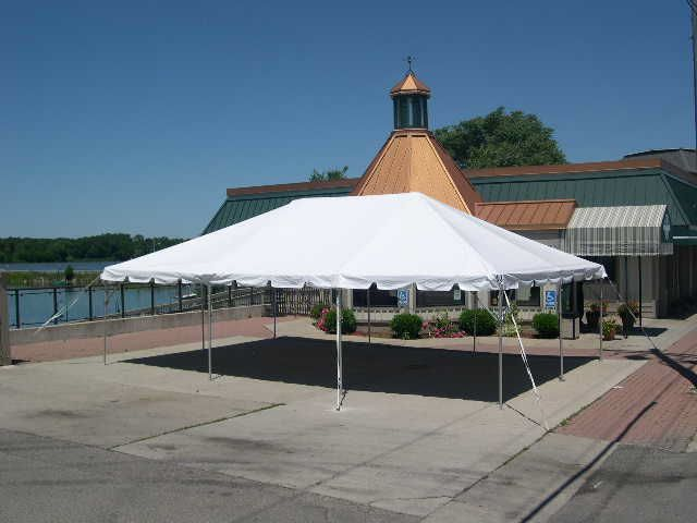 Rent Frame Tent, 20w Traditional
