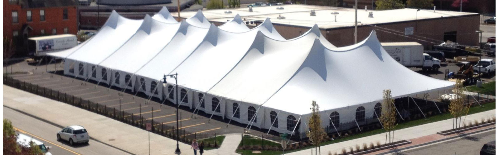 Tent rentals in Southeastern and Mid Michigan
