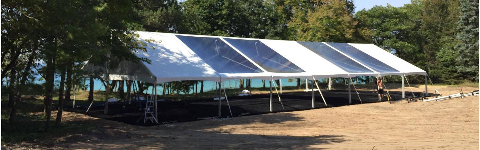 Canopy rentals in Southeastern and Mid Michigan